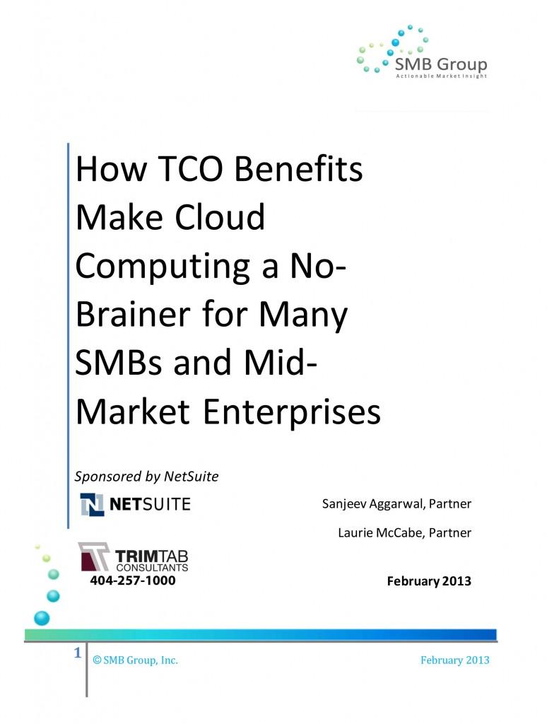 Microsoft Word - NetSuite TCO-Feb-13